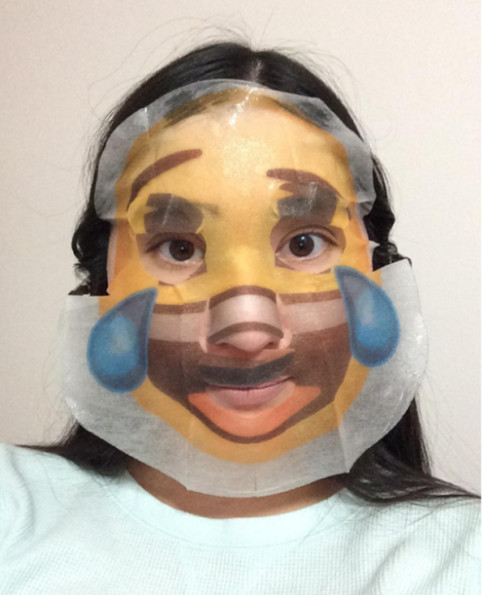 Everyone Is Loving These Hilarious Emoji Face Masks