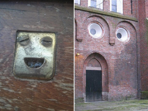 Funny Faces In Things & More Incredible Links