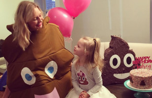 Take A Look At One Little Girl's Poop Themed Birthday Party