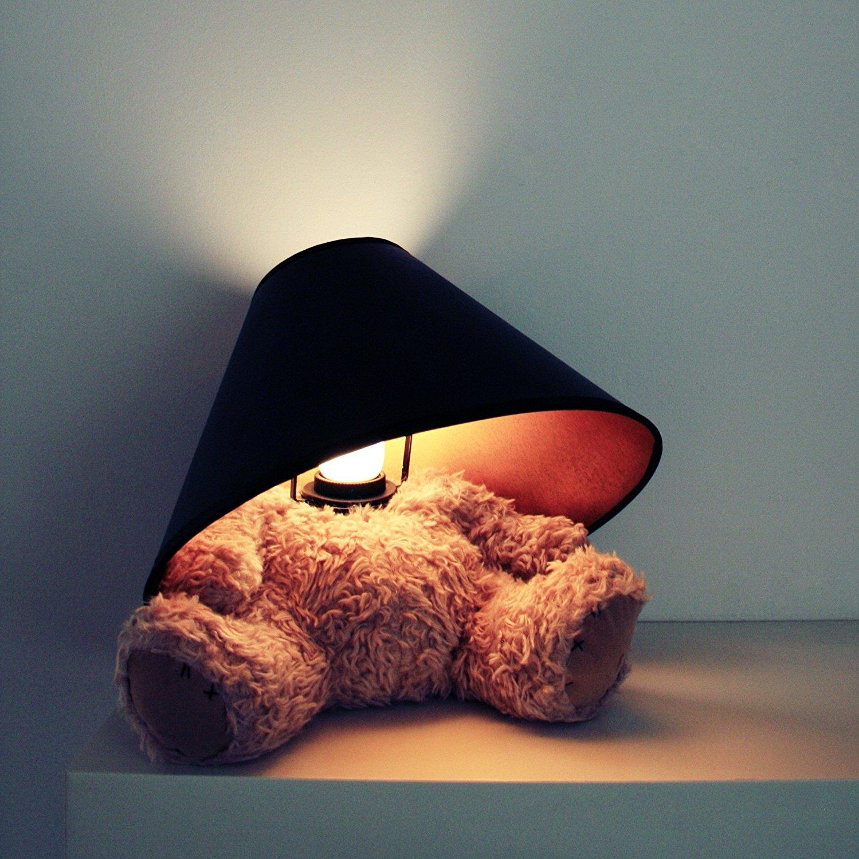 The Teddy Bear Lamp Is Kinda Cute And Kinda Morbid