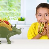 Triceratops Taco Stand
