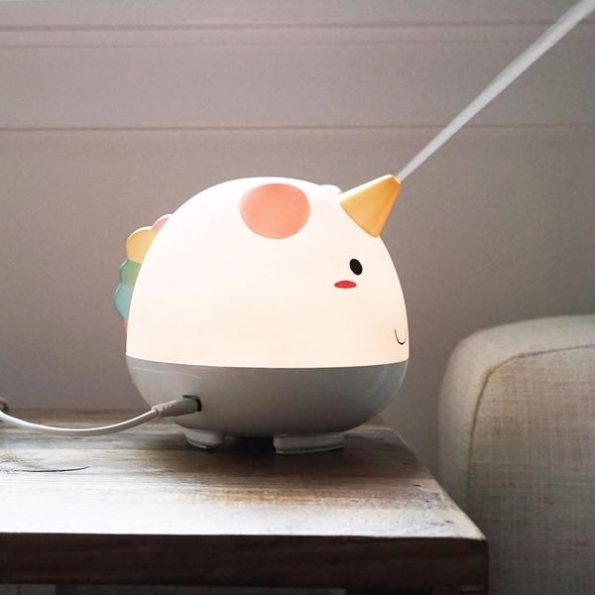This Color Changing LED Unicorn Diffuser Is SO CUTE