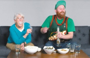 This Guy Smokes Weed With His Grandma For The First Time