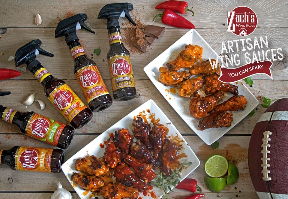 We're Giving Away Some Bottles Of Sprayable Wing Sauce!