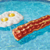Eggs and Bacon Pool Floats