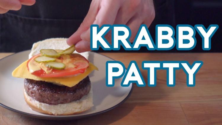 Here's How To Make A Krabby Patty Just Like Spongebob