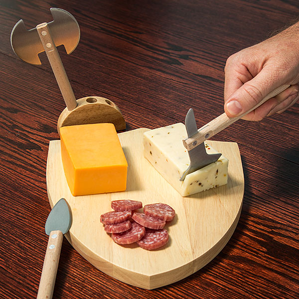 The Medieval Cheese Board Is The Most Bad Ass Cheese Board