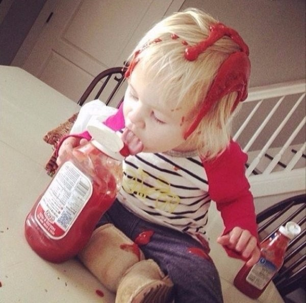 25 Unbelievably Messy Kids & More Incredible Links