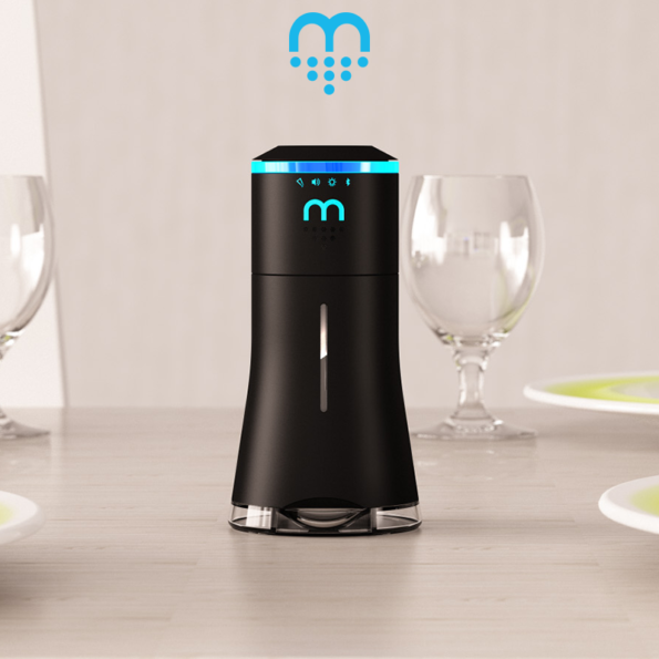 A Smart Saltshaker That Doubles As A Bluetooth Speaker