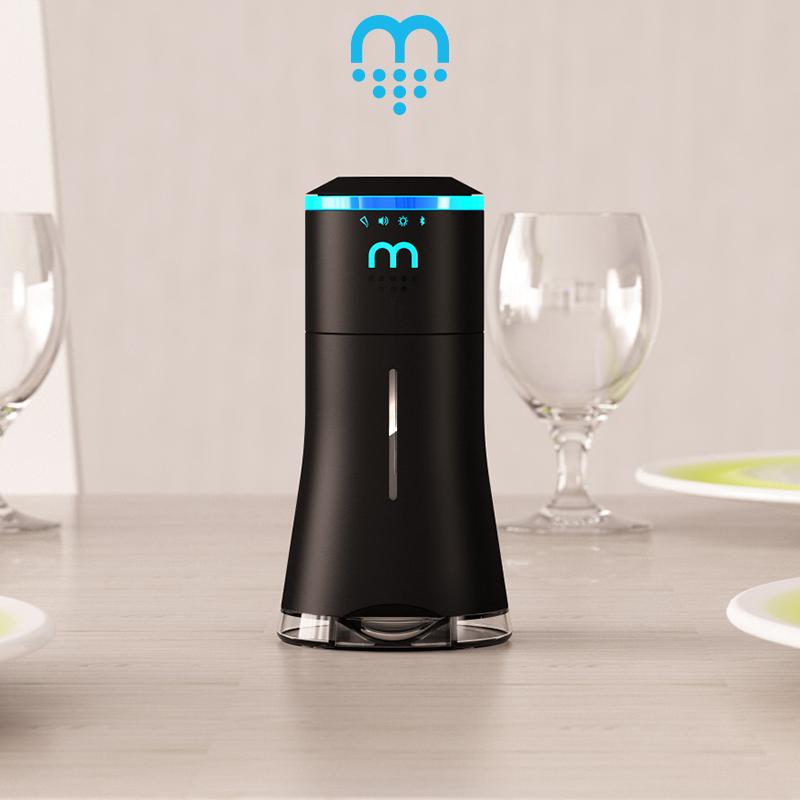 A Smart Saltshaker That Doubles As A Bluetooth Speaker