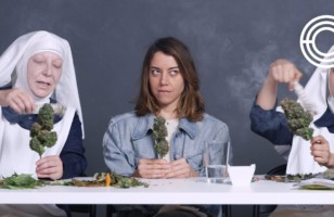 Aubrey Plaza Getting High With Nuns Is Just Great