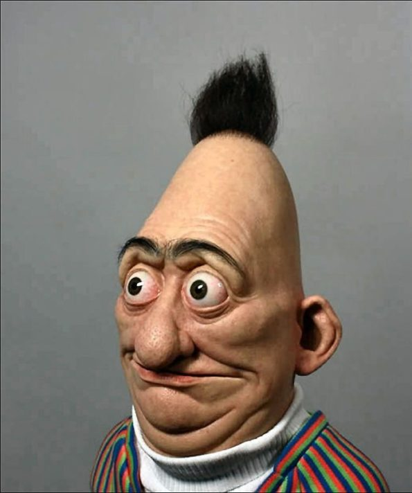 Cartoon Characters Real Life : Cartoon characters in real life are actually pretty terrifying