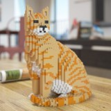 Cat LEGO Sculptures