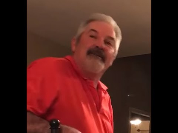 "One Guy Films His Father-In-Law Saying ""Huh?"" A Lot"