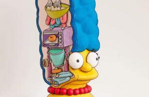 I Would 100% Eat The Hell Out Of This Marge Simpson Cake