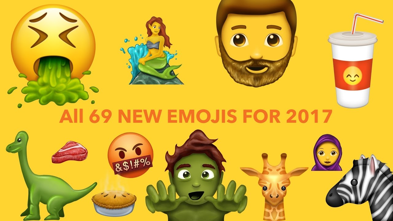 Here Are The New 2017 Emojis & More Incredible Links