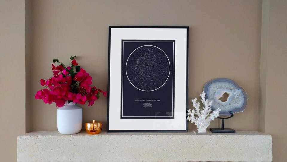 Get a star map print from a special night you want to remember - Homes built from recycled materials nasas outer space challenge ...