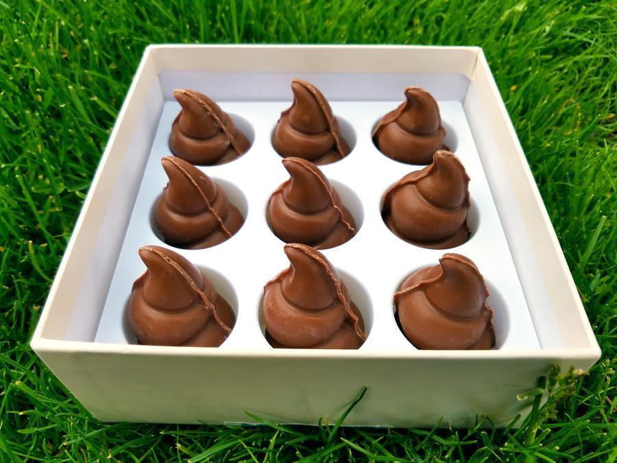 Poop Chocolate Is Chocolate Shaped Like The Poop Emoji