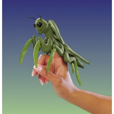 Mini Praying Mantis Finger Puppet by Folkmanis