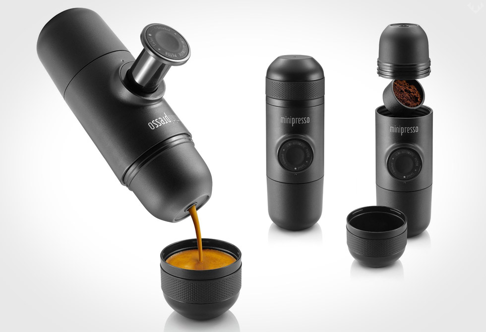 MiniPresso GR Espresso Maker to Make Espresso Anywhere