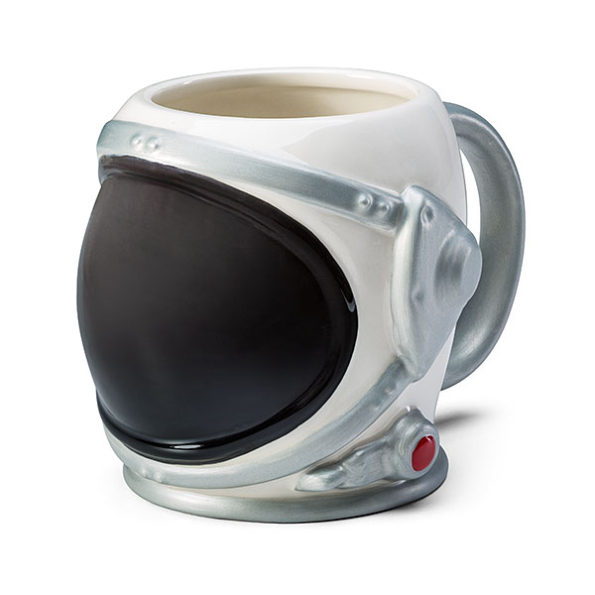 An Astronaut's Helmet Mug