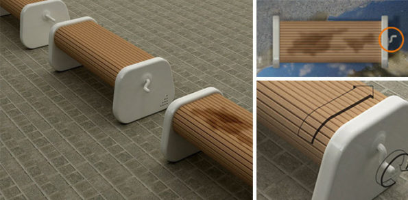 Fancy Benches: Feeling Too Good to Sit On