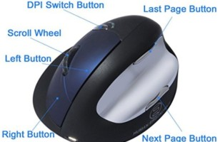 Ergonomically Designed Vertical Mouse