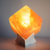 Colorful Himalayan Salt Crystal Lamp by Spirit