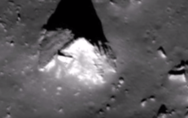Shocking News: An Ancient Pyramid Located On The Moon
