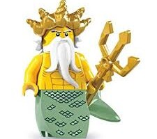 Ocean King Mini Figure Lego Series 7