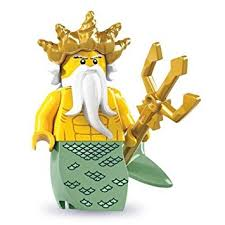 Ocean King Mini Figure Lego Series 7