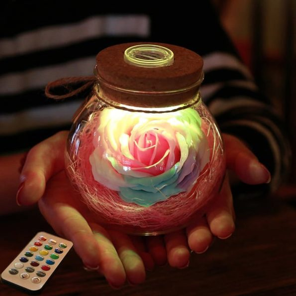 Romantic Illumination - Rose Light Bottle