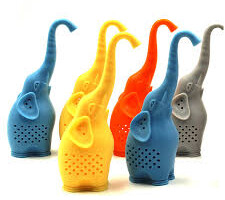 Silicone Elephant loose-leaf Tea Strainer & Tea Infuser