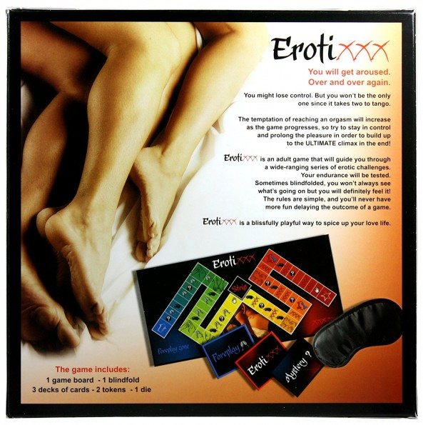 Erotic Couple Board Game Set of Two