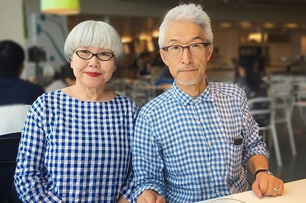 Japanese Husband & Wife Wearing Matching Dress Everyday for 37 Years!!!