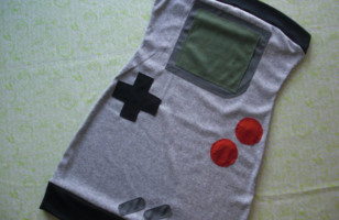 Adorable Nintendo Gameboy Dress