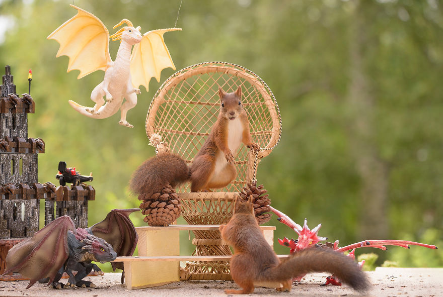Game Of Thrones By Little Cute Squirrels Incredible Things
