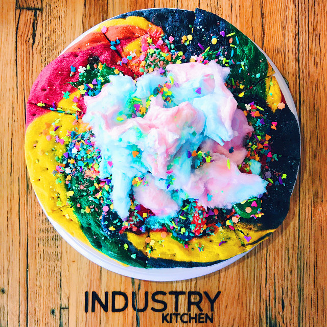 'Unicorn Pizza', A Giant Rainbow Sugar Cookie