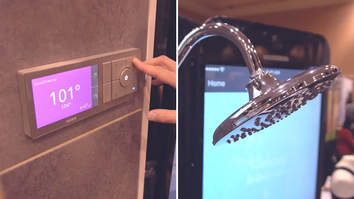 The U by Moen - World's First WiFi-Connected Shower | Incredible Things