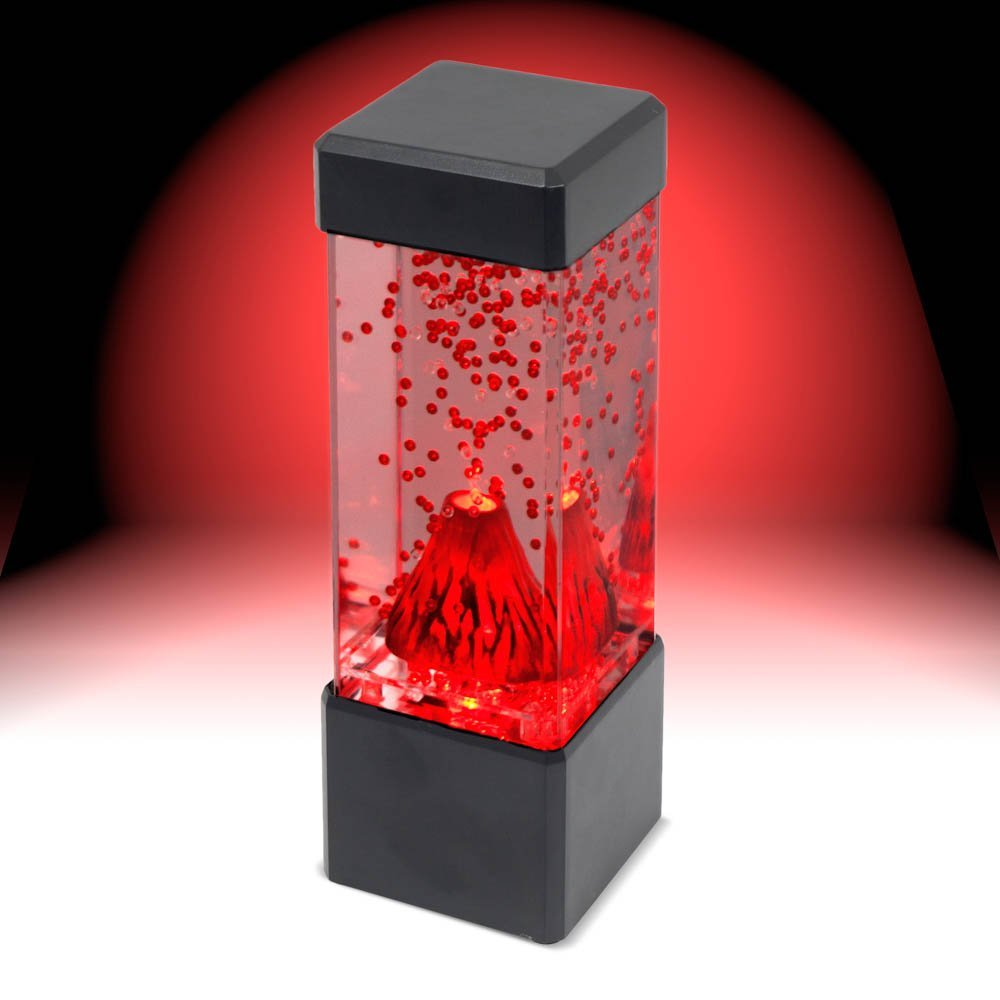 Relax Your Mood with Desktop Led Volcano Lamp
