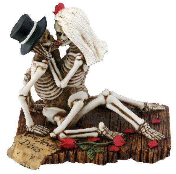 Love Making Skeleton Sculpture