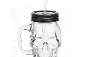 Do You Love Skulls? Glass Skull Drinking Jar
