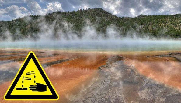A Man Dissolved After Trying to Bathe in the Wrong Hot Spring in Yellowstone National Park