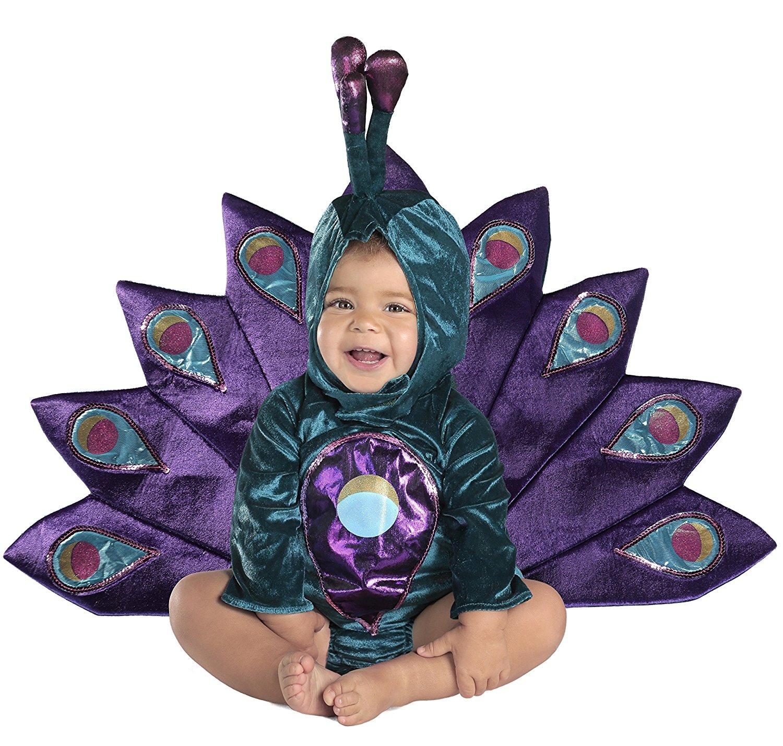 Halloween Baby Peacock Deluxe Costume
