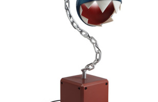 Chain Chomp Lamp from Super Mario Bros.