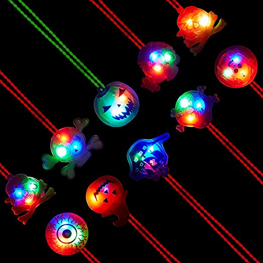 Flashing Necklaces For Halloween Parties