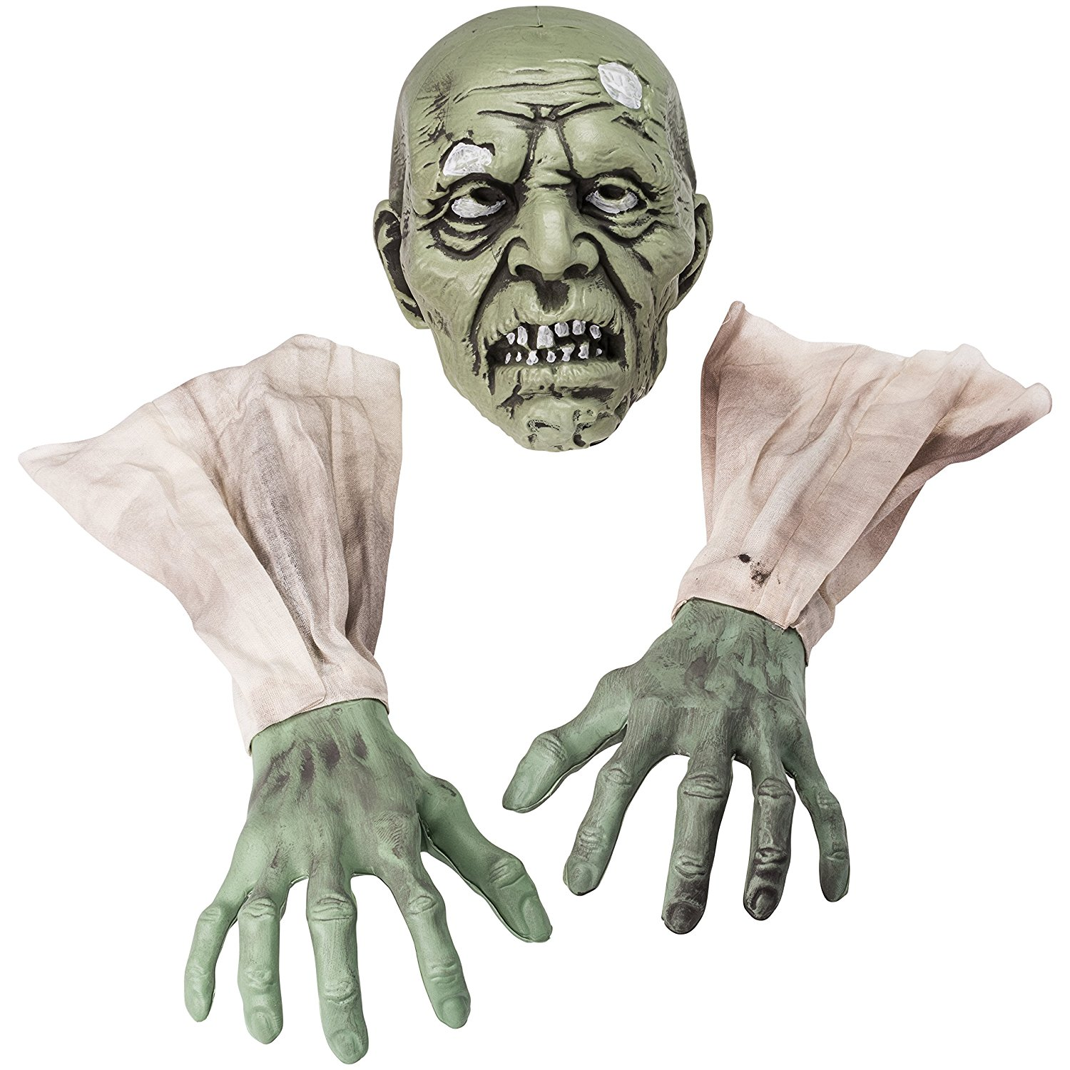 Halloween Zombie Face and Arms