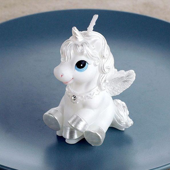 Charming Unicorn Candles