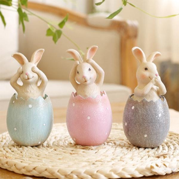 Vintage Cute Bunny Decoration Ornament