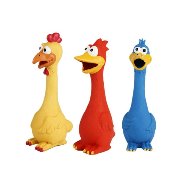 Squawk, Squeak and Screaming Duck Toys for Pet Dogs